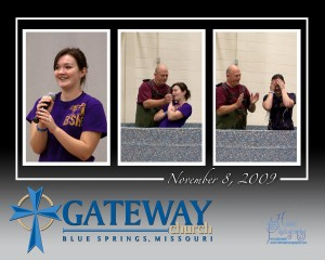 Photographers document baptisms in Blue Springs Missouri